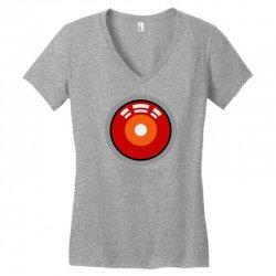 computer says no funny geek game Women's V-Neck T-Shirt | Artistshot