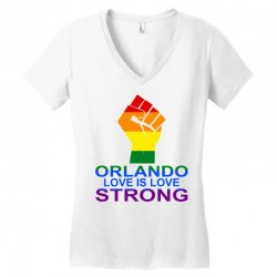 Love Is Love, Orlando Strong Women's V-Neck T-Shirt | Artistshot