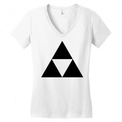 Super Smash Bros Women's V-neck T-shirt Designed By Hbk