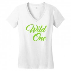 Wild One Women's V-Neck T-Shirt | Artistshot