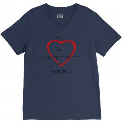 geek love shirt V-Neck Tee | Artistshot