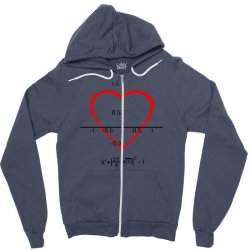 geek love shirt Zipper Hoodie | Artistshot