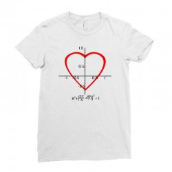 geek love shirt Ladies Fitted T-Shirt | Artistshot
