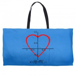 geek love shirt Weekender Totes | Artistshot