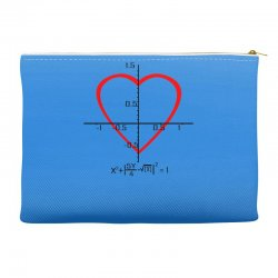 geek love shirt Accessory Pouches | Artistshot