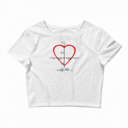 geek love shirt Crop Top | Artistshot