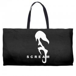 scream 1 slasher horror Weekender Totes   Artistshot