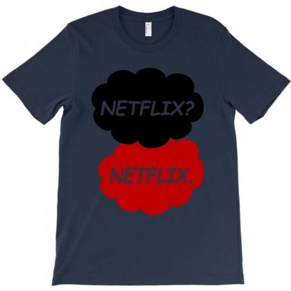 Netflix Netflix T-shirt Designed By Mdk Art