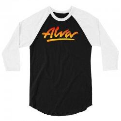 new alva skateboard skate decks logo 3/4 Sleeve Shirt | Artistshot