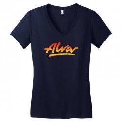 new alva skateboard skate decks logo Women's V-Neck T-Shirt | Artistshot