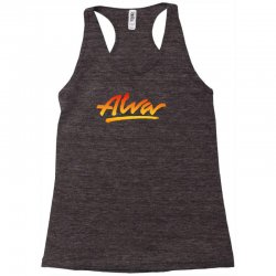 new alva skateboard skate decks logo Racerback Tank | Artistshot