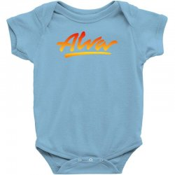 new alva skateboard skate decks logo Baby Bodysuit   Artistshot