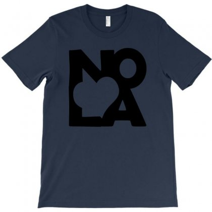 Love Nola New Orleans American Jazz Blues Music T Shirt T-shirt Designed By Mdk Art
