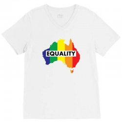 Vote Yes-Australia Marriage Equality V-Neck Tee | Artistshot