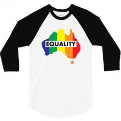 Vote Yes-Australia Marriage Equality 3/4 Sleeve Shirt | Artistshot