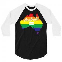 Vote Yes-Australia Marriage Equality 3/4 Sleeve Shirt | Artistshot