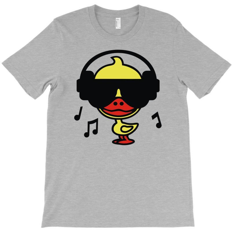Music Duck T-shirt   Artistshot