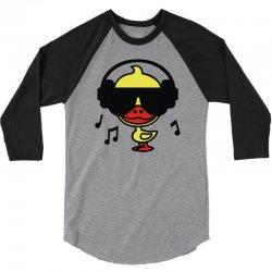 music duck 3/4 Sleeve Shirt | Artistshot