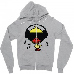 music duck Zipper Hoodie | Artistshot