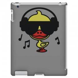 music duck iPad 3 and 4 Case | Artistshot