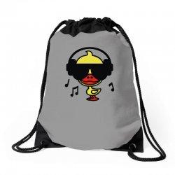 music duck Drawstring Bags | Artistshot