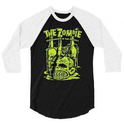 Brass Monkey 3/4 Sleeve Shirt Designed By Mdk Art