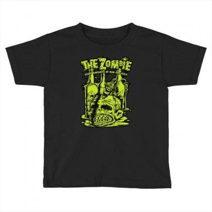Brass Monkey Toddler T-shirt Designed By Mdk Art