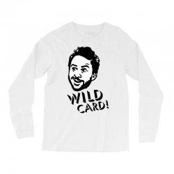 wild card Long Sleeve Shirts   Artistshot
