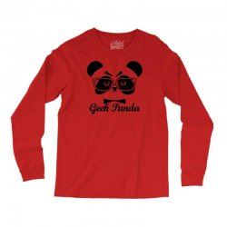 Geek Panda Long Sleeve Shirts | Artistshot