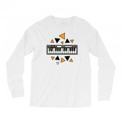 music,keyboard,electronic,piano,triangle,reflections,cute,vectorart, Long Sleeve Shirts | Artistshot