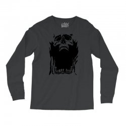 Screaming skull Long Sleeve Shirts   Artistshot