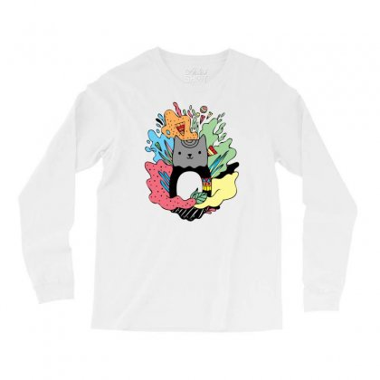 Abstracat Long Sleeve Shirts Designed By Specstore