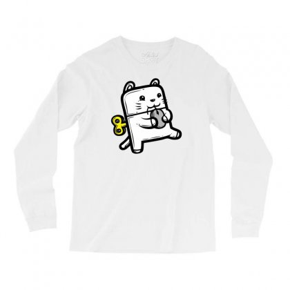 Robo Cat Long Sleeve Shirts Designed By Specstore