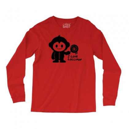 Monkeystein And Lollipop Long Sleeve Shirts Designed By Specstore