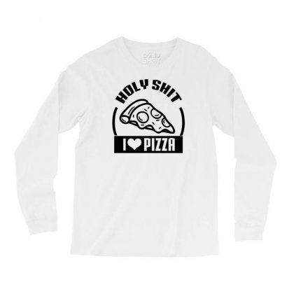 I Love Pizza Tee Long Sleeve Shirts Designed By Specstore