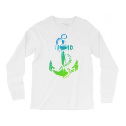 Anchor Of Life Long Sleeve Shirts Designed By Specstore