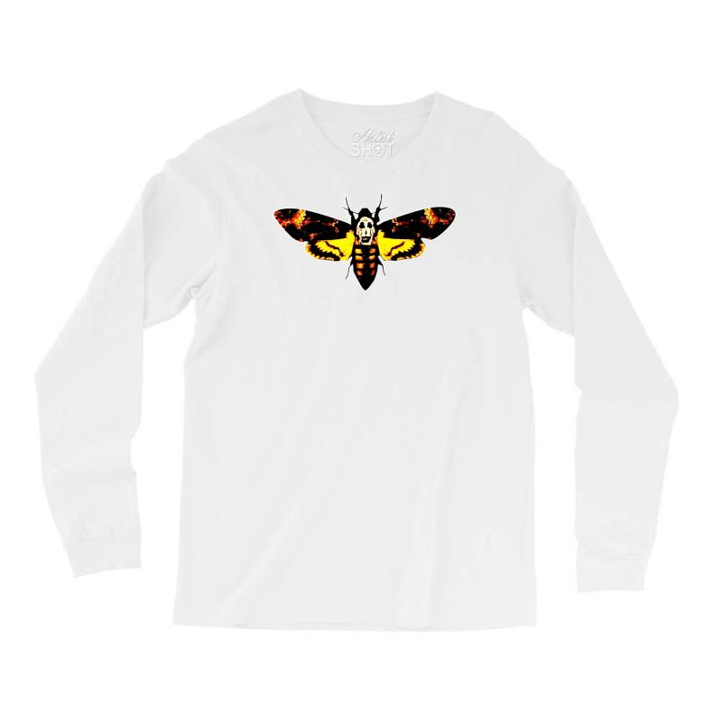 Custom Silence Of The Lambs Butterfly Moth Long Sleeve Shirts By ... 09e3e861d