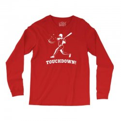 touchdown   funny sports Long Sleeve Shirts | Artistshot