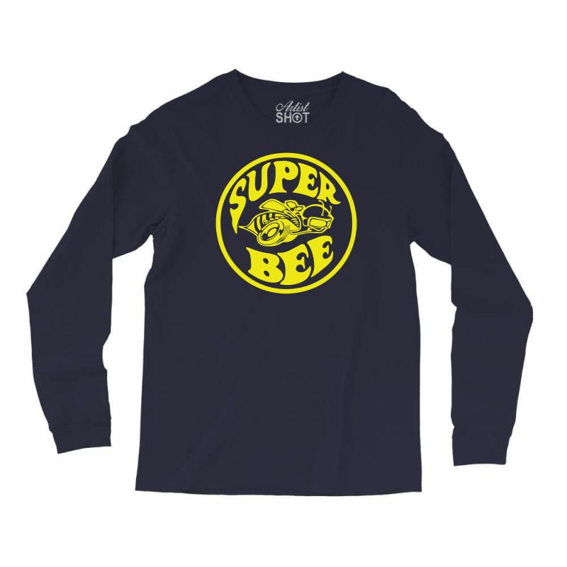 6cb5e81a Custom Super Bee Long Sleeve Shirts By Andini - Artistshot