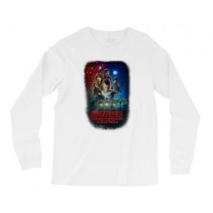 Stranger Things Poster Long Sleeve Shirts Designed By Vr46