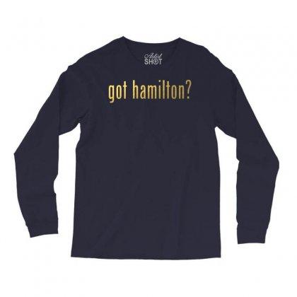 Got Hamilton? Long Sleeve Shirts Designed By Vr46