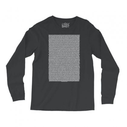 Bee Movie Script Long Sleeve Shirts Designed By Vr46