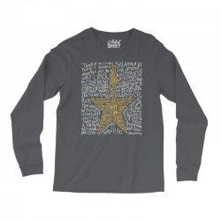 Hamilton Typography Long Sleeve Shirts | Artistshot