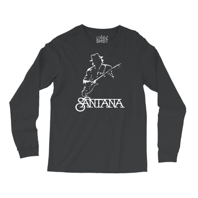 bdec3b533 Custom Carlos Santana Long Sleeve Shirts By Andini - Artistshot