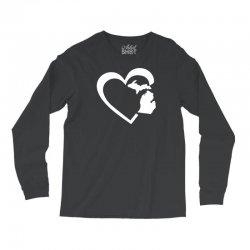michigan heart love Long Sleeve Shirts | Artistshot