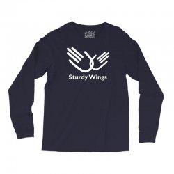 sturdy wings Long Sleeve Shirts | Artistshot