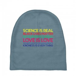Anti Trump Science is Real Black Lives Matter T shirt Baby Beanies | Artistshot