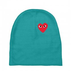 comme des garcons play Baby Beanies | Artistshot