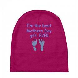best mother day gift ever Baby Beanies   Artistshot