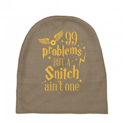 99 problems but a snitch ain't one Baby Beanies | Artistshot